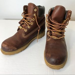 Vintage Timberland boots waterproof leather 8.5